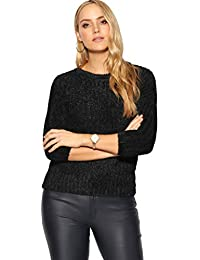 c7a629f157cc7b KRISP® Women Ladies Fluffy Knit Long Sleeve Xmas Jumper Winter Sweater  Pullover Top