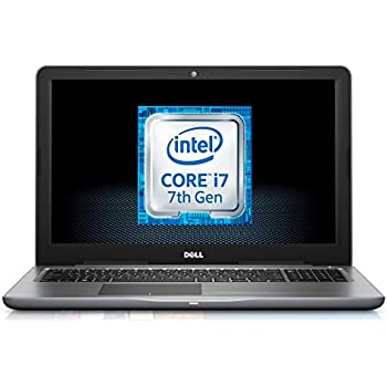 Dell Inspiron 15 5000 15.6-Inch Notebook - (Black) (Intel Core i7-7500U, 16 GB RAM, 2 TB HDD, AMD R7 4 GB Graphics Card, Windows 10)