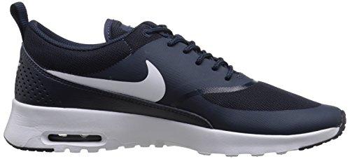 Nike Wmns Air Max Thea, Chaussures de Gymnastique Femme Bleu - Blau (OBSIDIAN/WHITE 409)