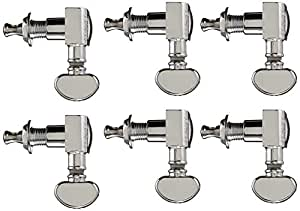 Grover 305C Midsize Rotomatic 18:1 Machine Heads Chrome