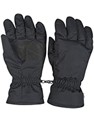 Mountain Warehouse Mens Ski Gloves - Snowproof, Withstands Cold, Textured Palm Ski Mittens, Fleece Lined Snowboard Gloves - Improved Warmth On The Winter Slopes