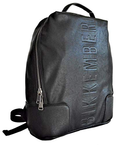 Dirk Bikkembergs 7bdd88060a201 Zaino Uomo, Nero (0A2 Black) 15.5x42x32.5 cm (W x H x L)
