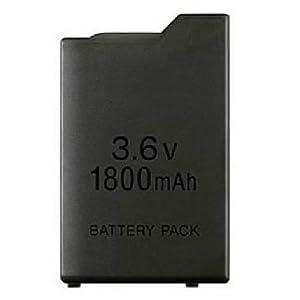 OSTENT 1800mAh 3,6 V Lithium Ionen Akku Ersatz für Sony PSP 1000 PSP-110 Konsole