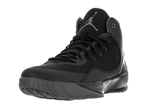Nike Mens Rising High 2 Mesh Trainers Black/Dark Grey-Blk-Infrrd 23