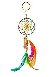 Dream catcher keychain - neon circus