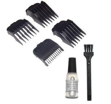 Wahl 4 Attachment Comb Set - for Wahl Super Taper