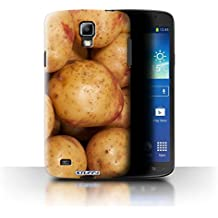 Carcasa/Funda STUFF4 dura para el Samsung Galaxy S4 Active/I9295 / serie: Comida - Patata