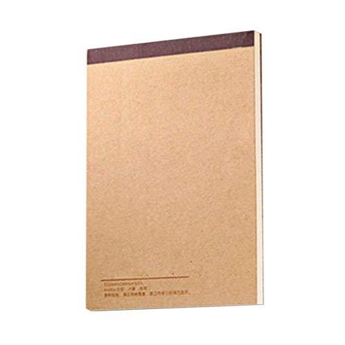 LafyHo Malzubehör Kraftpapier Abdeckung Skizze Bücher Graffiti Buch Rechnen Graffiti Hand Malbücher für Zeichnen/Berechner 1