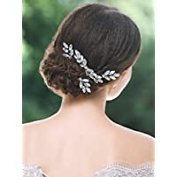 Handcess da sposa fermacapelli pin set strass argento opale strass  accessori accessori per capelli per sposa daf5bb46165f