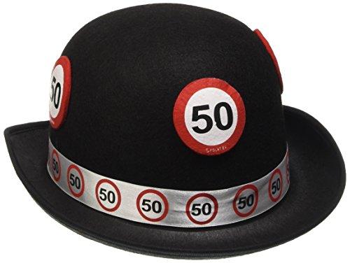 Filz-Hut Verkehrsschild 50. Geburtstag