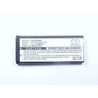 Akku für Nintendo DSi LL (, UTL-003), Li-Ion, 3,7V, 3,3Wh, 900mAh