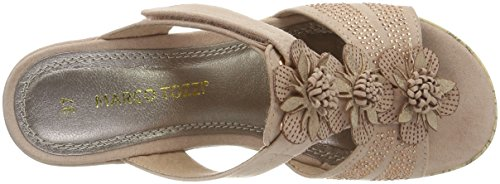 Marco Tozzi 27213, Sandales Bout Ouvert Femme Rose (Rose 521)