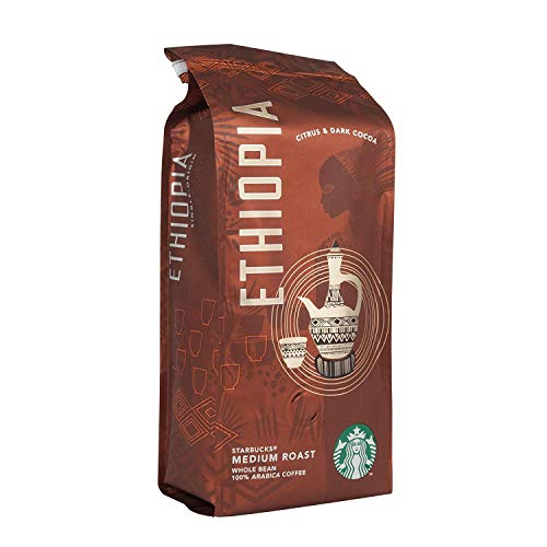 Ethopia Starbucks Medium Roast Kaffeebohnen 250g - 100% Arabica