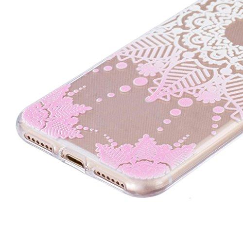 Ouneed® Für iPhone 7 /4.7 Zoll Hülle, Ultra Slim bunt Vintage Haut TPU Case Cover für iPhone 7 / 4.7 Zoll (7 /4.7 Zoll, J) B