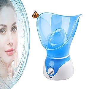 Gesichtsdampfer Sauna Home SPA Warme Nebel Feuchtigkeitsspendende Reinigung Instrument Hautpflege Luftbefeuchter(USA-Stecker, EU-Stecker, UK-Stecker)