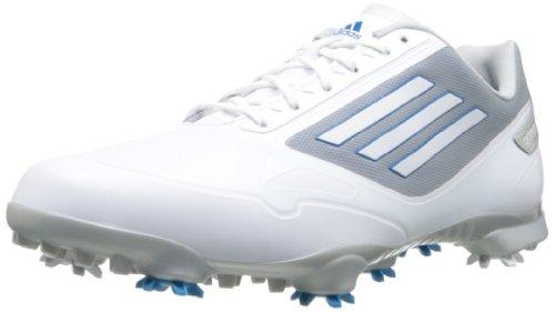 adidas , Herren Golfschuhe Weiß White/Dark Solar Blue/Tech Grey