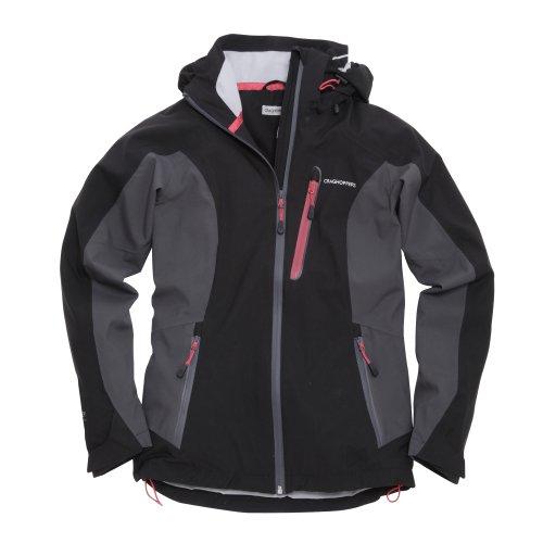 Craghoppers miya stretch veste fonctionnelle pour femme Multicolore - Noir/gris