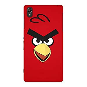 Delighted Red Yelo Peak Back Case Cover for Sony Xperia Z2