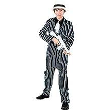 Disfraz Gangster traje niño infantil para Carnaval 7-9 años