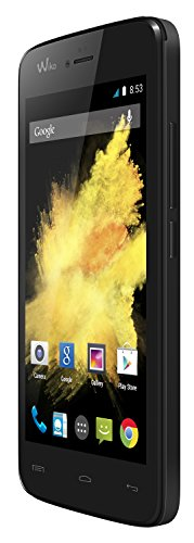 Wiko Birdy - Smartphone libre Android  pantalla 4 5   c  mara 5 Mp  4 GB  Quad-Core 1 3 GHz  1 GB RAM   negro