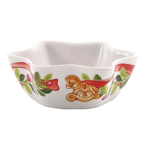 THUN Ciotolina Stella Dolce Natale, Ceramica, Variopinto