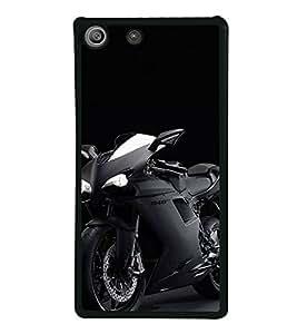 Fiobs Designer Back Case Cover for Sony Xperia M5 Dual :: Sony Xperia M5 E5633 E5643 E5663 (Clutch Brake Seat Cover Engine Car)