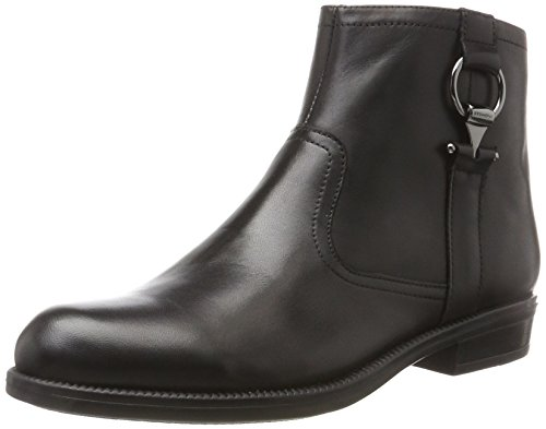 Stonefly Damen Clyde 24 Vitello Chelsea Boots Schwarz (nero / Nero)