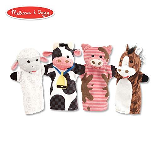 Farm Friends Hand Puppets: Puppets & Plush - Puppets