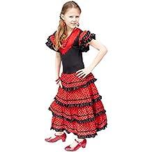 La seno Rita spagnola Flamenco Vestito Costume – per ragazza bambini ... f49f47a14959