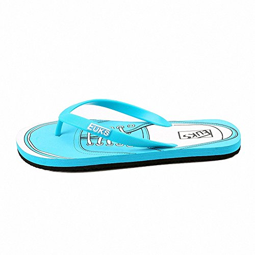 Ben Sports Zehentrenner Badeschuhe Sandale Thong Flip Flops Outdoorsandalen Herren Blau