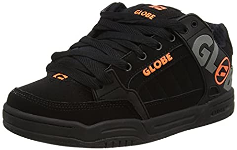 Globe Tilt, Herren Skateboarden, Black (Black/Silver Grey), 44.5 EU
