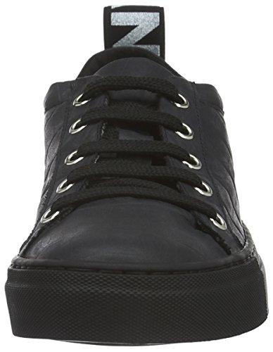 Jonny`s Vegan Damen Hanne Sneakers, Schwarz (Negro), 37 EU - 4