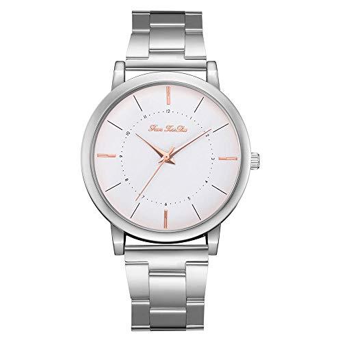 Uhren Frauen Uhren Elegante Damen Edelstahl Weibliche Uhr Analog Quarz Runde Armbanduhren Stunden Relogio Feminino
