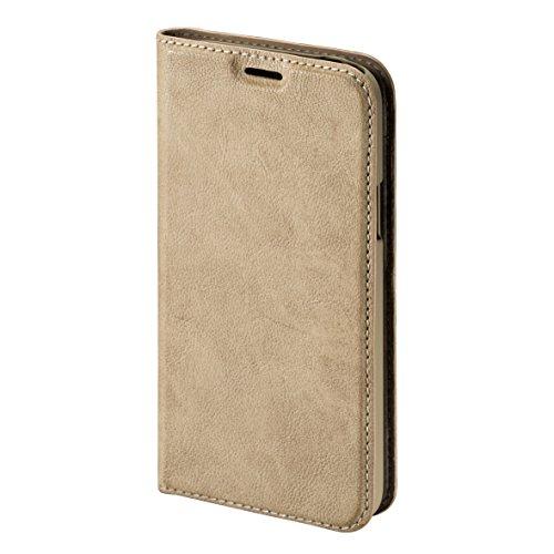 Hama Guard Booklet Schutzhülle für Samsung Galaxy S5 Mini, Beige