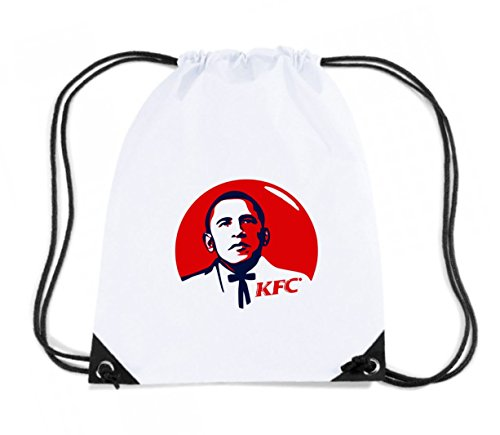 t-shirtshock-rucksack-budget-gymsac-tr0018-barack-obama-kfc-25mm-1-pin-badge-button-kentucky-fried-c