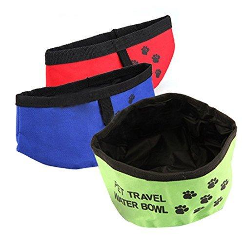 Faltbarer Wassernapf Reisenapf Für Hunde 20cm Trinkschüssel Unterwegs Reisen