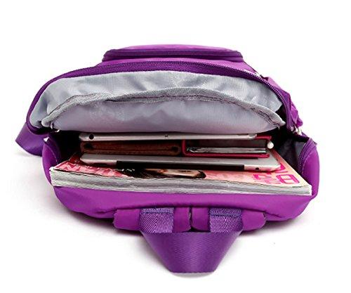 Keshi Nylon Niedlich Damen accessories hohe Qualität Einfache Tasche Schultertasche Freizeitrucksack Tasche Rucksäcke Pink