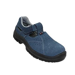 Almar Tropic S1 SRC Sicherheitsschuhe Arbeitsschuhe Trekkingschuhe Sandale Blau B-Ware, Größe:44 EU