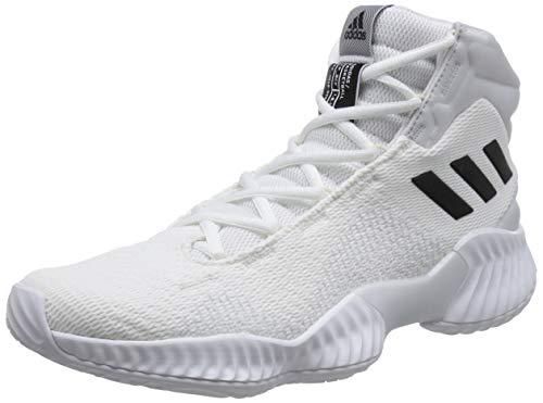 adidas Herren Pro Bounce 2018 Basketballschuhe, Weiß Ftwwht/Cblack/Crywht, 45 1/3 EU