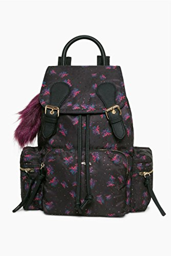 Desigual Sac Vancouver Bloomstar Noir 17waxfem