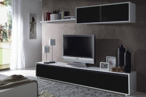 habitdesign-mueble-de-comedor-moderno-tv-color-blanco-y-negro-brillo