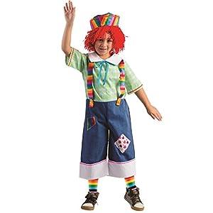 Viste a América - 774-L - muñeca de trapo Raggedy Andy disfraz para niños - 12-14 años - 140 cm cintura - Multicolor