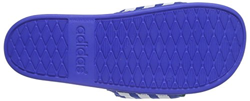 adidas adilette Supercloud Plus Herren Slipper Blau (Blue/Ftwr White/Midnight Indigo F15)