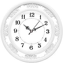 reloj de pared Clásico Chino Tallado Creativo Simple y silencioso Reloj de Cuarzo de la Sala