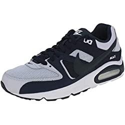 Nike Air Max Command, Chaussures d'Athlétisme Homme, Multicolore (Pure Platinum/Armory Midnight Navy 000), 43 EU