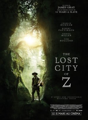 THE LOST CITY OF Z - Charlie Hunnam – French