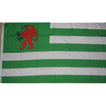 Vóór 1939 OXFORDSHIRE 5ft x 3ft Flag