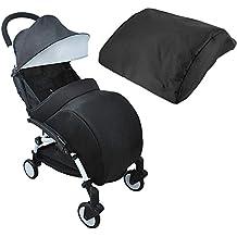 Incluye saco cubrepiernas. Cubierta de invierno universal para cochecito de bebé de Domybest