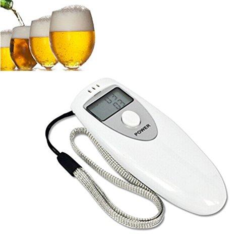 Alcoholimetro etilometro digital de bolsillo con pantalla LCD medicion aliento 10 segundos no mas sanciones conduce seguro de OPEN BUY