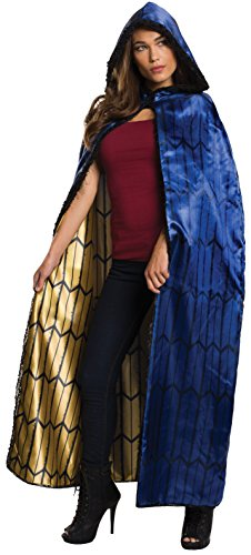 Rubie's Women's Batman v Superman: Dawn of Justice Deluxe Wonder Woman Cape, Multi, One ()